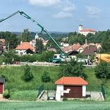 Výstavba nového mostu u Černé Hory, silnice I/43