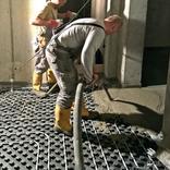 Pokládky podlahových betonů LPP a izolací