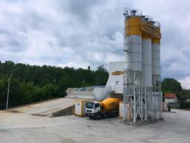 Concrete Hustopeče, concrete plant Hustopeče