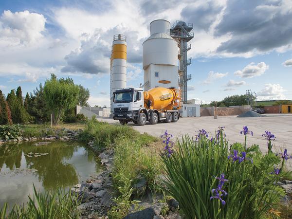 Jsme největší ryze český výrobce čerstvého betonu