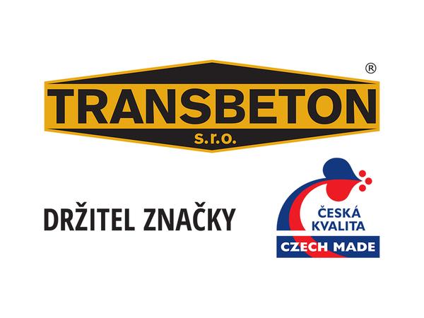 TRANSBETON s.r.o. držitelem značky CZECH MADE